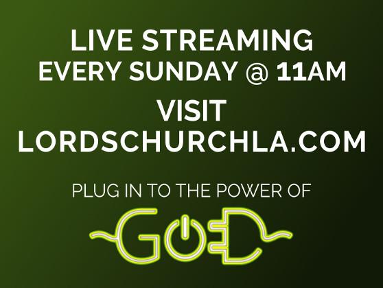 Live Stream Every Sunday