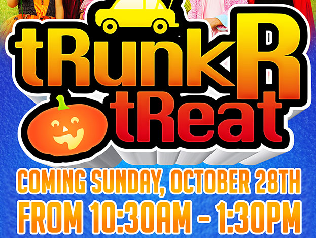 Trunk R Treat Halloween Event