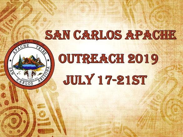 San Carlos Indian Outreach 2019