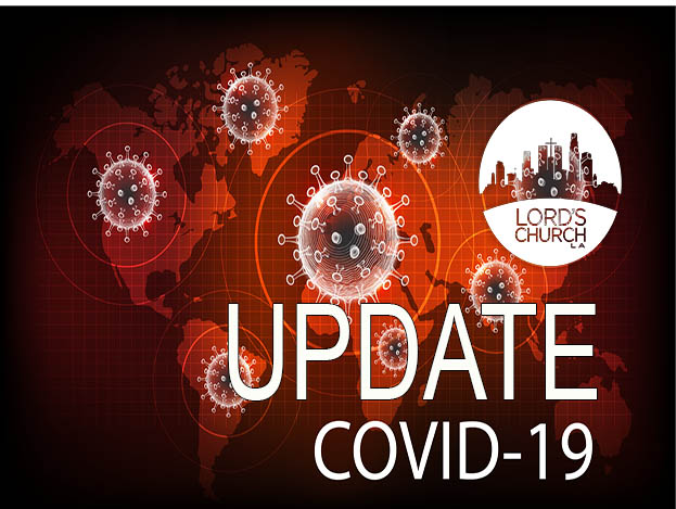 UPDATE COVID 19: A Letter from Pastor Jason