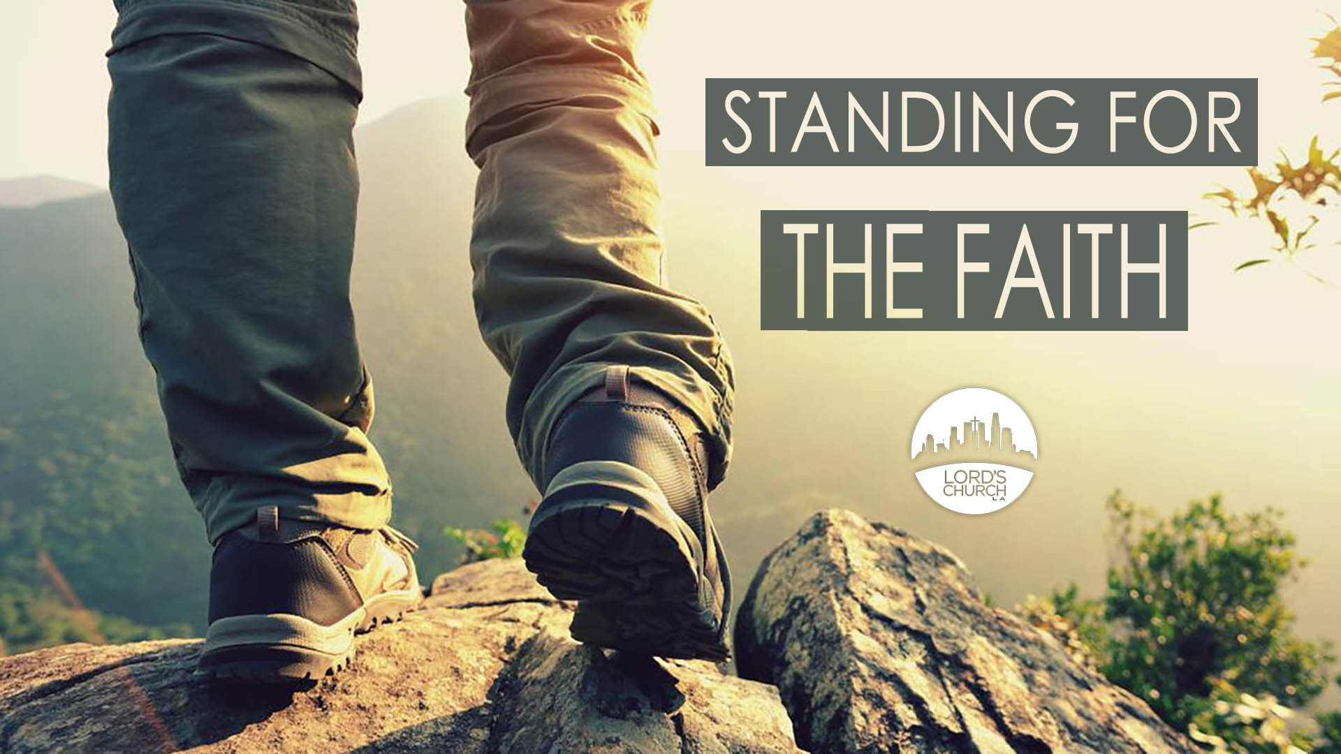 standing for the faith